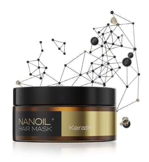 Nanoil - Haarmaske mit Keratine